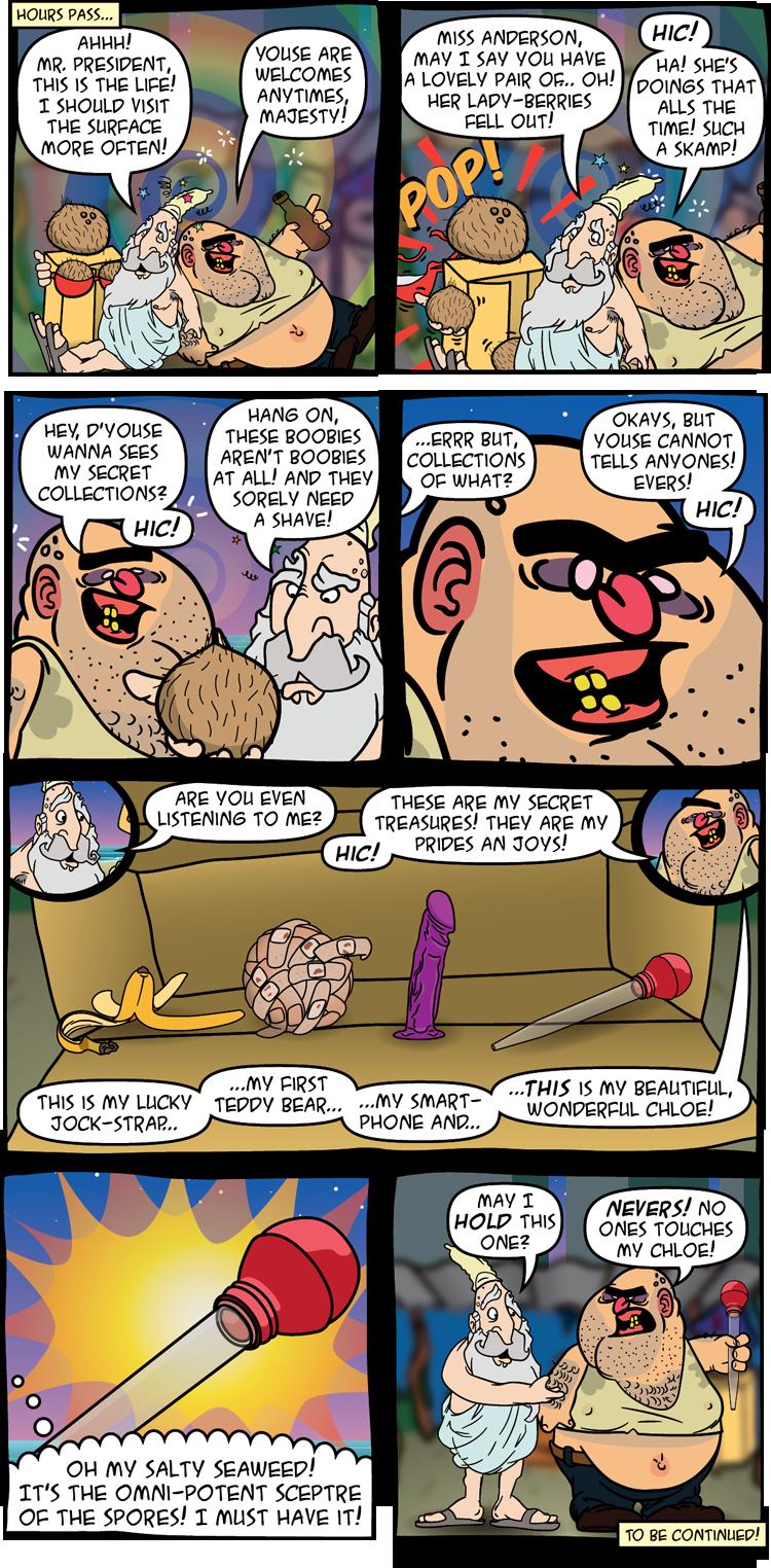 21: The Omni-Potent Sceptre of The Spores