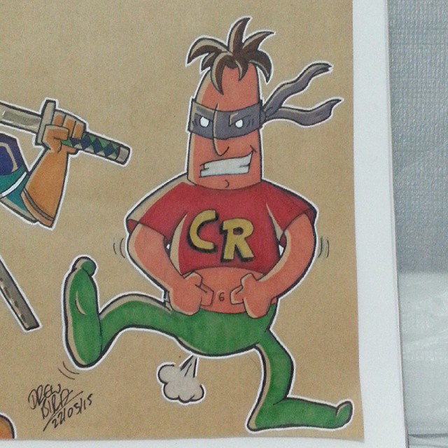 Crazy Reg by Drew Bird